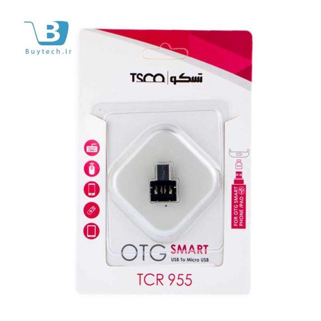 مبدل فلزی otg tsco مدل tcr 955